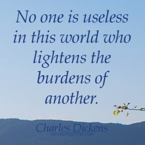 No one is useless