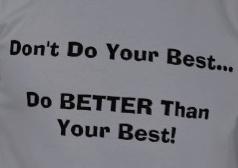better than best