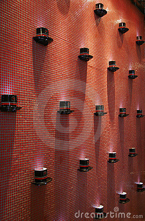 Coffee on the wall